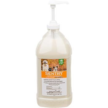 Sentry Flea and Tick Shampoo With Oatmeal