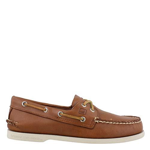 (Sperry Men's A/O 2 Eye Boat Shoe,Tan,11.5 M US)