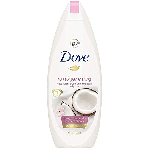 Dove Purely Pampering Body Wash Coconut & Jasmine 500ml by Dove