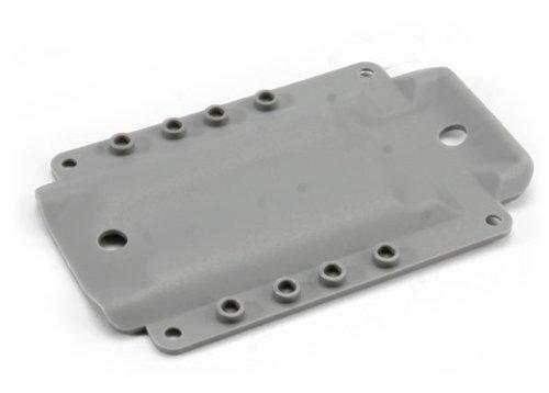 Traxxas Skidplate - Grey: 4908 T-Maxx 3.3