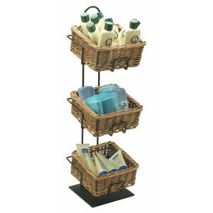 3 Tier Small Basket Display