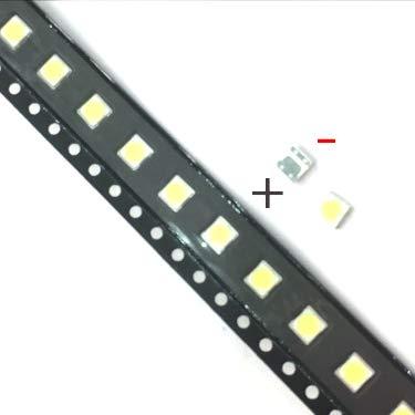 Phoncoo 50PCS for LCD TV Repair LG led TV Backlight Strip Lights with Light-Emitting diode 3535 SMD LED Beads 6V