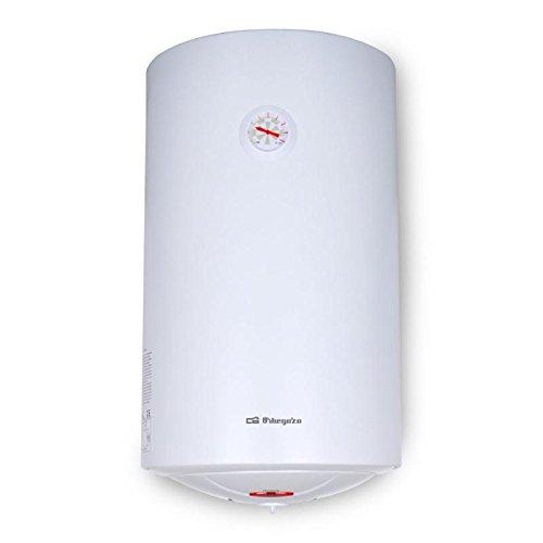 Orbegozo TRM 82 Vertical Depósito (almacenamiento de agua) Sistema de calentador único Color blanco - Hervidor de agua (Vertical, Depósito (almacenamiento ...