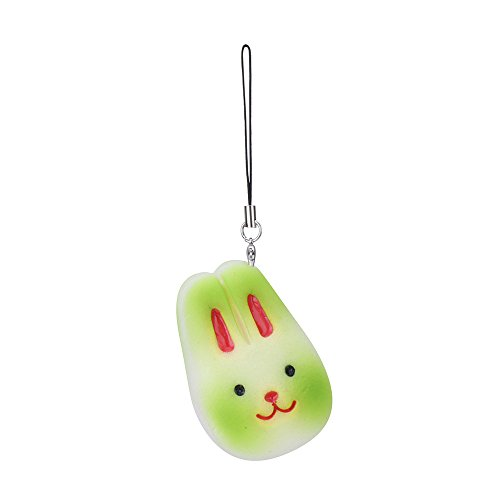 PLENTOP 2PC Random Rabbit Slow Rising Collection Squeeze Stress Reliever Toy
