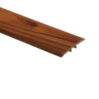 Amber Ash 5/16 in. Thick x 1-3/4 in. Wide x 72 in. Length Vinyl T-Molding -