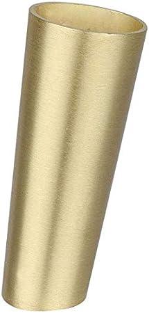 78cm Cubierta de pie de Muebles Aleaci/ón de Zinc Cubierta de pie Oblicua Cubierta de pie de Mesa Cubierta de pie de Silla MWPO Cubierta no Trasera Cubierta de pie c/ónica 80cm