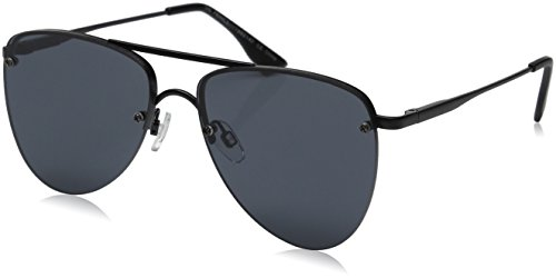 Le Specs Women's The Prince Sunglasses, Matte Black/Smoke Mono, One - Specs Sunglasses Le