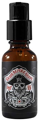 Grave Before Shave Bay Rum Beard Oil 1 Ounce Bottle