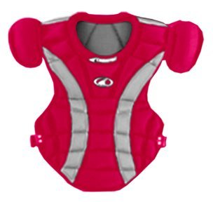 Champro Youth Pro Plus Chest Protector (Scarlet, 15.5-Inch length) ()