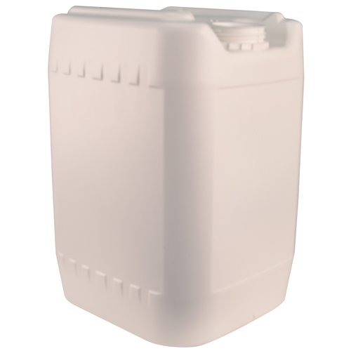 White 20 Liter Baritainer Jerrican w/70mm Neck (Cap Sold Separately)