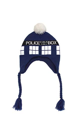 Elope Doctor Who Tardis Laplander, Blue, One Size ()
