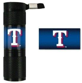 MLB Texas Rangers LED Flashlight (Light Rangers Texas Mlb)