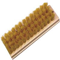 Birdwell CLEANING 471-48 Scrub Brush Natural Tampico Bristles Trim