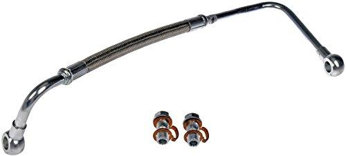 Line Oil Supply - Dorman 904-118 Chevrolet/GMC 6.6L Duramax LLY Turbocharger Oil Supply Line Kit