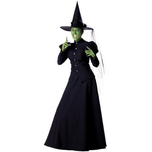 InCharacter Women's Witch Costume, (Wicked Witch Of The East Costume)