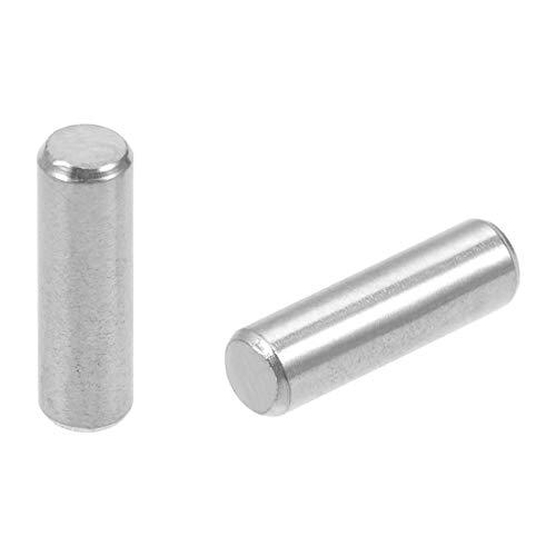 sourcing map 100Pcs 2mm x 45mm Dowel Pin 304 Stainless Steel Shelf Pin Fasten Elements