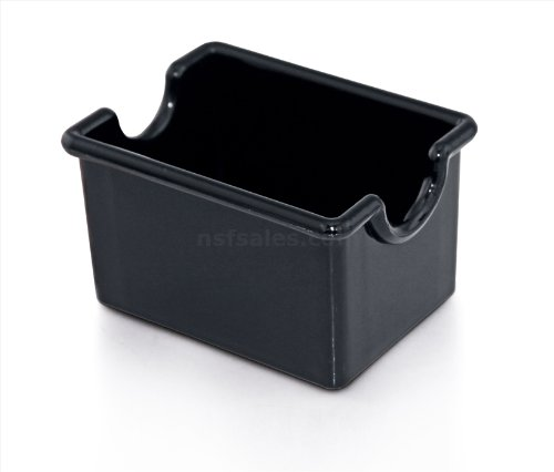 New Star Foodservice 28430 Plastic Sugar Packet Holder, Black, Set of (Sugar Caddy Packet Holder)
