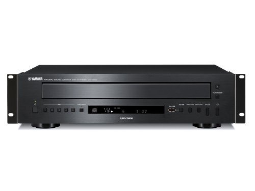 Yamaha CD-C600-RK Five Disc CD Changer Front Panel USB Port MP3, WMA Playback DAC Conversion by Yamaha