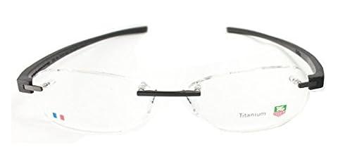 Tag Heuer 3944 Eyeglasses 001 Black/Black 54mm (Tag Heuer Women Black)