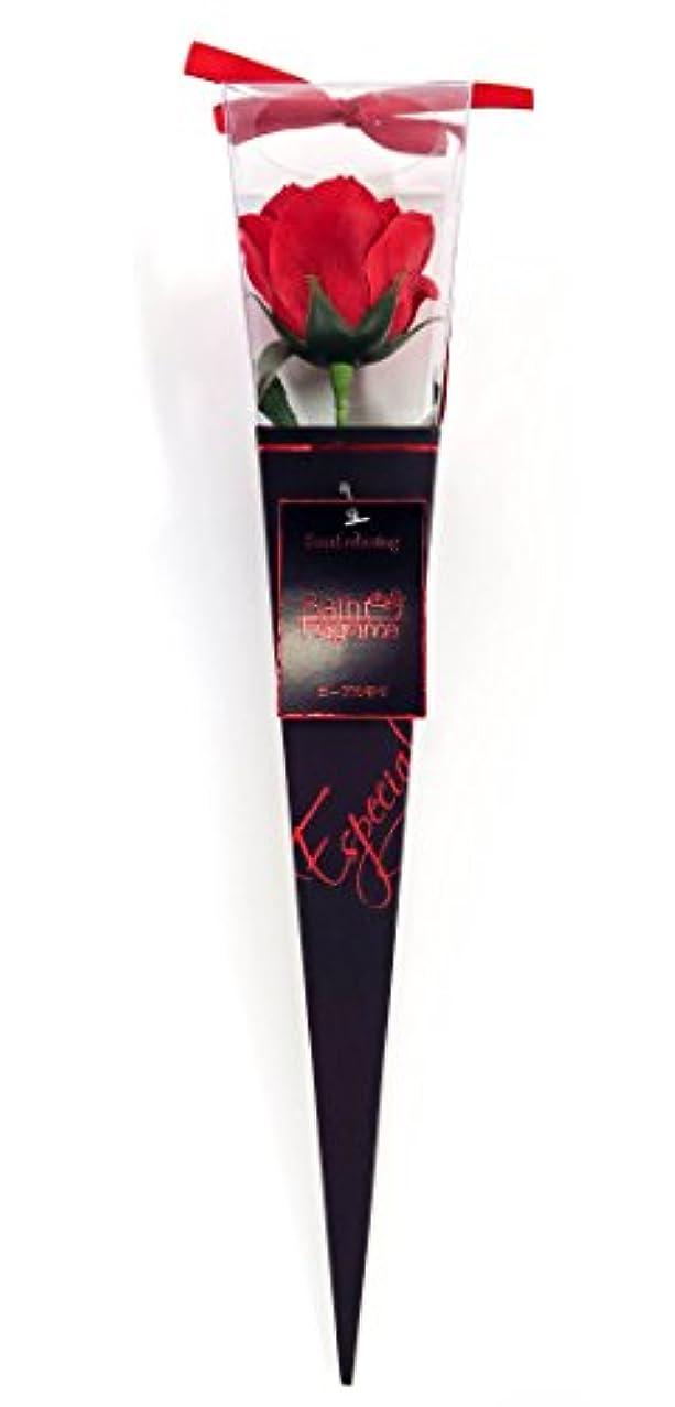 馬鹿逃れる原始的なバスフレグランス フラワーフレグランス プレミアムkelee レッド 1輪 お花の形の入浴剤 ギフト ばら
