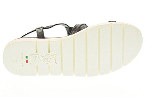 De Zapatos Giardini Nero 100 Las P717740d Sandalias Negro 67znTxw