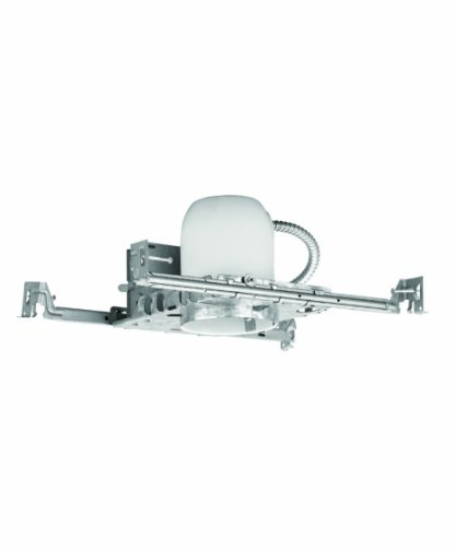WAC Lighting R400SNA 4-Inch New Construction Housing Non Ic-Air Tight Recessed Lighting by WAC Lighting