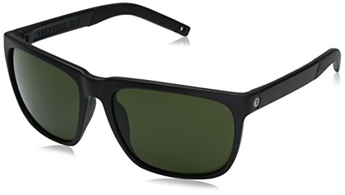 Electric Visual Knoxville XL S Matte Black/OHM Grey Sunglasses by Electric