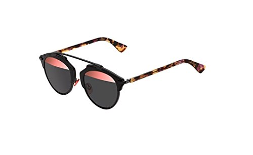 Dior Women CD SOREAL/S 48 Black/Grey Sunglasses ()