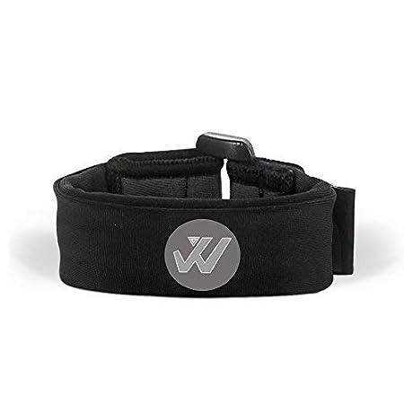 Wwin Multi Color Wrist Portafoglio/Sport Wristband adatto per Uomo Donna - Un identificabile Bracciale sportivo, Perfetto per eventi, Corsa, Allenamento in palestra, Escursionismo, Viaggi - blu