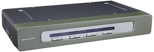 Belkin OmniView Secure 4-Port KVM Switch; EAL4+; NIAP; USB IN & OUT -  F1DN104U