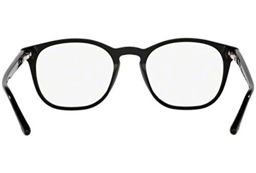 Giorgio Armani Montures de lunettes 7074 Pour Homme Dark Tortoise, 48mm Black