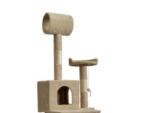 BestPet 57'' Cat Tree Tower Condo Scratcher Furniture Kitten House Hammock