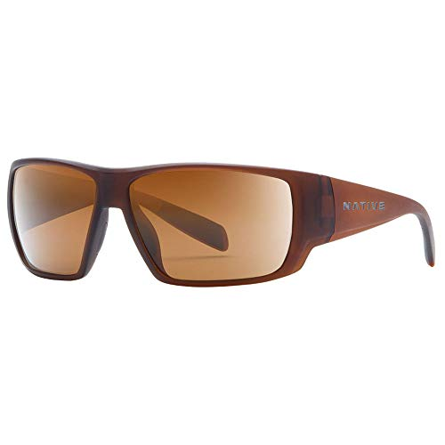 Native Eyewear Sightcaster, Matte Brown Crystal, Brown