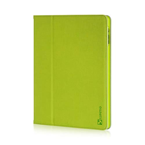 Insten Stand Folio Flip Leather Case Cover Compatible with Apple iPad 2/3, Green