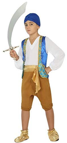 Boys Arabian Around The World TV Film Fancy Dress Costume Outfit 3-12 Years (5-6 (Fancy Dress Tv And Film Costumes)