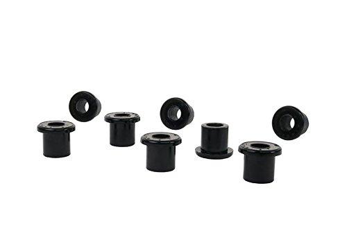 Nolathane  REV163.0006 Black Spring Shackle Bushing (Spring Eye Rear and Rear) (Rear Spring Eye)