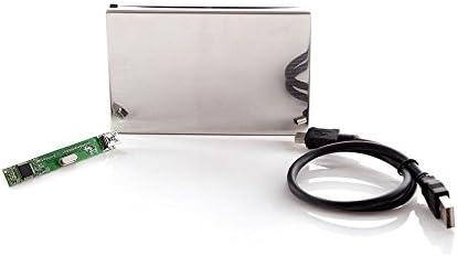 2.5 inch HDD SATA SANOXY 2.5 Inch Laptop Hard Drive USB 2.0 SATA Enclosure//Case