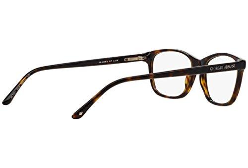 ... Giorgio Armani Montures de lunettes 7021 Pour Femme Black, 52mm 5026   Tortoise da3ae4ac25cb