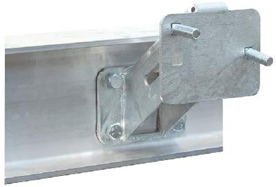 SPARE TIRE CARRIER FOR ALUMINUM FRAMES-Spare Tire Carrier