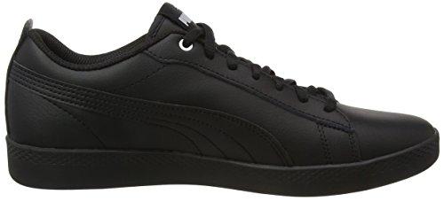 Puma 3 Mujer puma Puma Zapatillas Negro Black Black para Wns V2 Smash L 7Hf8q