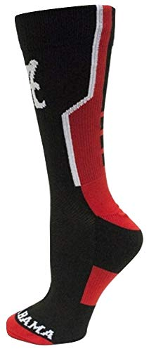 Alabama Crimson Tide NCAA Donegal Bay Sports Performance Adult One Size Fits Most Socks