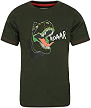 Mountain Warehouse Dino Kids Tee - Relaxed Fit Girls & Boys T-S