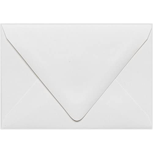 A1 Contour Flap Envelopes (3 5/8 x 5 1/8) - White - 100% Recycled (50 Qty.) for sale