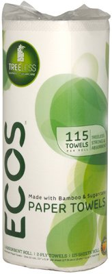 Earth Friendly Products 9953/40 SGL Roll Paper Towel