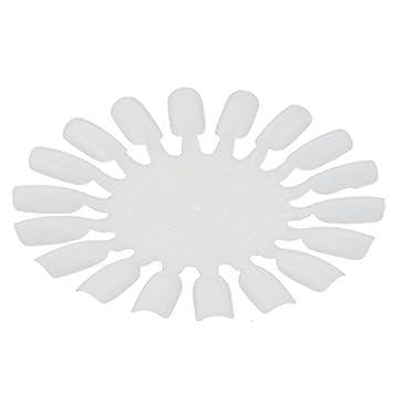 Arte falso del clavo de la rueda de plastico eDealMax uñas 18-uñas Muestras del