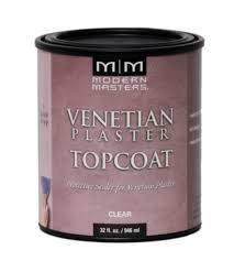 (MODERN MASTERS Venetian Plaster Clear Top Coat/GAL.)