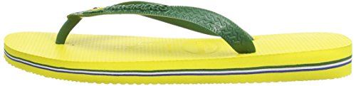 Unisex Yellow Citrus Chanclas 45 Havaianas Brasil 47 Brazilian Adulto 46 para EU 48 Amarillo taFqwT
