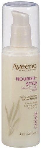 Aveeno Nourish+Style Smoothing Crème, 4 fl ounces