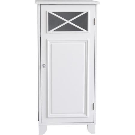 Prairie Floor Cabinet with Door, White Blend of Contemporary and Old World Design (Prairie Style Cabinets)