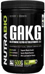 - NutraBio L-Glutamine (AKG) Alpha Ketoglutarate 2:1 Powder - 500 G